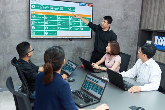 Đội ngũ kỹ thuật phần mềm của ABEO
